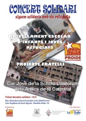 Concert solidari del Cor Jove de la Schola Cantorum