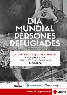Creu Roja organitza una xerrada pel Dia Mundial de les Persones Refugiades