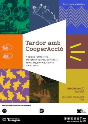 Cinema, contes, tallers, xerrades i exposicions per una tardor amb CooperAcció