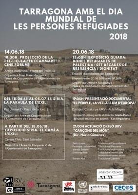 El dia 20 de juny se celebra el dia mundial de les persones refugiades