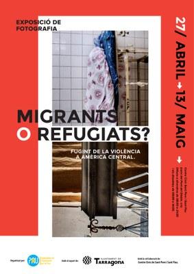 Exposició 'Migrants o Refugiats?' del fotoperiodista Edu Ponces