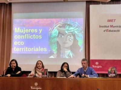 La Conselleria de Cooperació col·labora en la publicació del llibre 'Mujeres y conflictos ecoterritoriales'