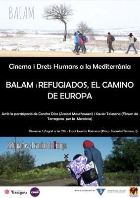 Projecció dels curtmetratges 'Balam' i 'Refugiados, camino de Europa'