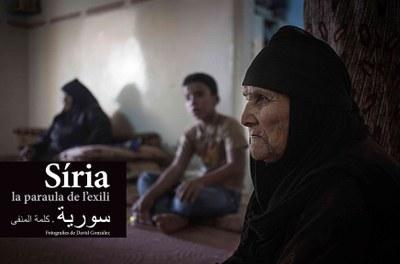 L'Àrea de Cooperació ofereix seguir el microcicle 'Síria, 9 anys de crisi humanitària' en línia