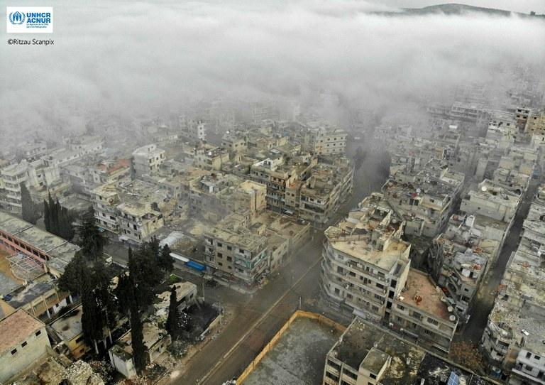 A l'altre costat del mur: Síria i l'accés a l'ajuda a humanitària