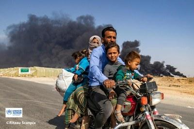 Retornar a Síria, nou anys després de l'inici del conflicte. Com afecta la covid-19?