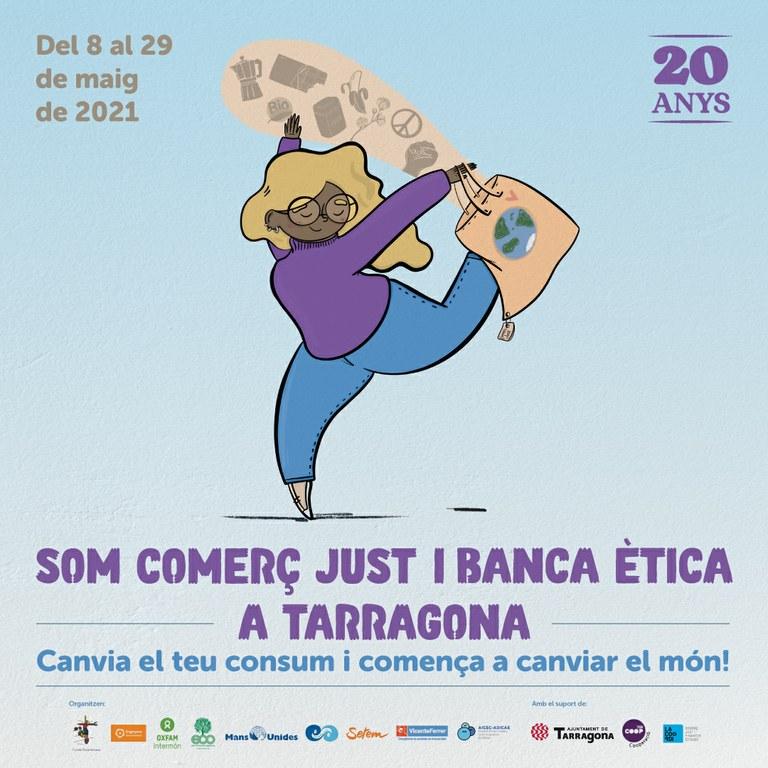 La Plaça Corsini serà aquest dissabte l'escenari de la Festa dels vint anys del Comerç Just