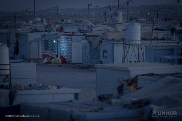 El campament de refugiats de Zaatari compleix tres anys