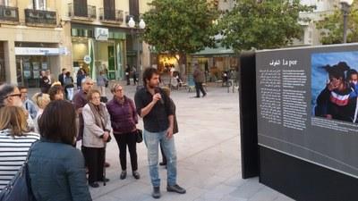 """Inaugurada l'exposició """"Síria, camí de l'exili"""""""