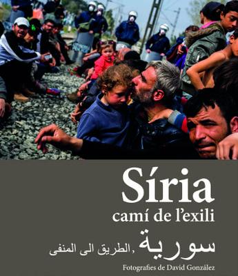 """La mostra fotogràfica """"Síria, camí de l'exili"""" de David González recull el testimoni de persones refugiades en la ruta dels Balcans"""