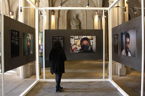 L'exposició Síria, la paraula de l'exili es podrà veure a l'Edifici Històric de la Universitat de Barcelona