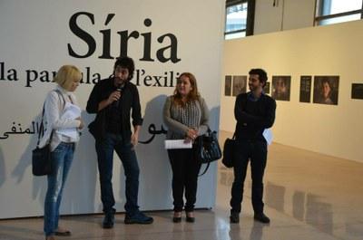 """""""Síria, la paraula de l'exili"""" a l'Auditori de Tac12"""