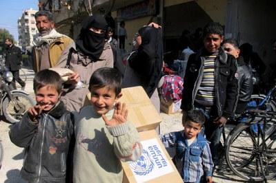 UNICEF aconsegueix accedir a alguns barris de Síria per primer cop en dos anys
