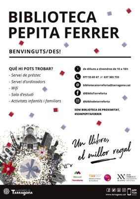 La Biblioteca Pepita Ferrer de Torreforta estrena parada al Mercat de Torreforta