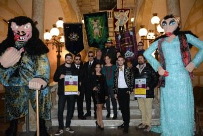 La presentació de la Bóta i el Ninot i la Ninota donen el tret de sortida al Carnaval de Tarragona