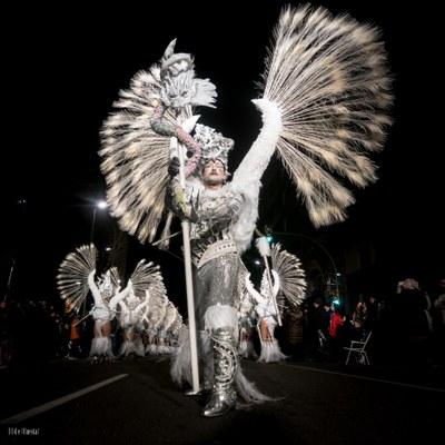 L'Escola de Ball Nou Ritme amb la seva deesa de l'hivern Skadi guanya el concurs de comparses del Carnaval de Tarragona 2018