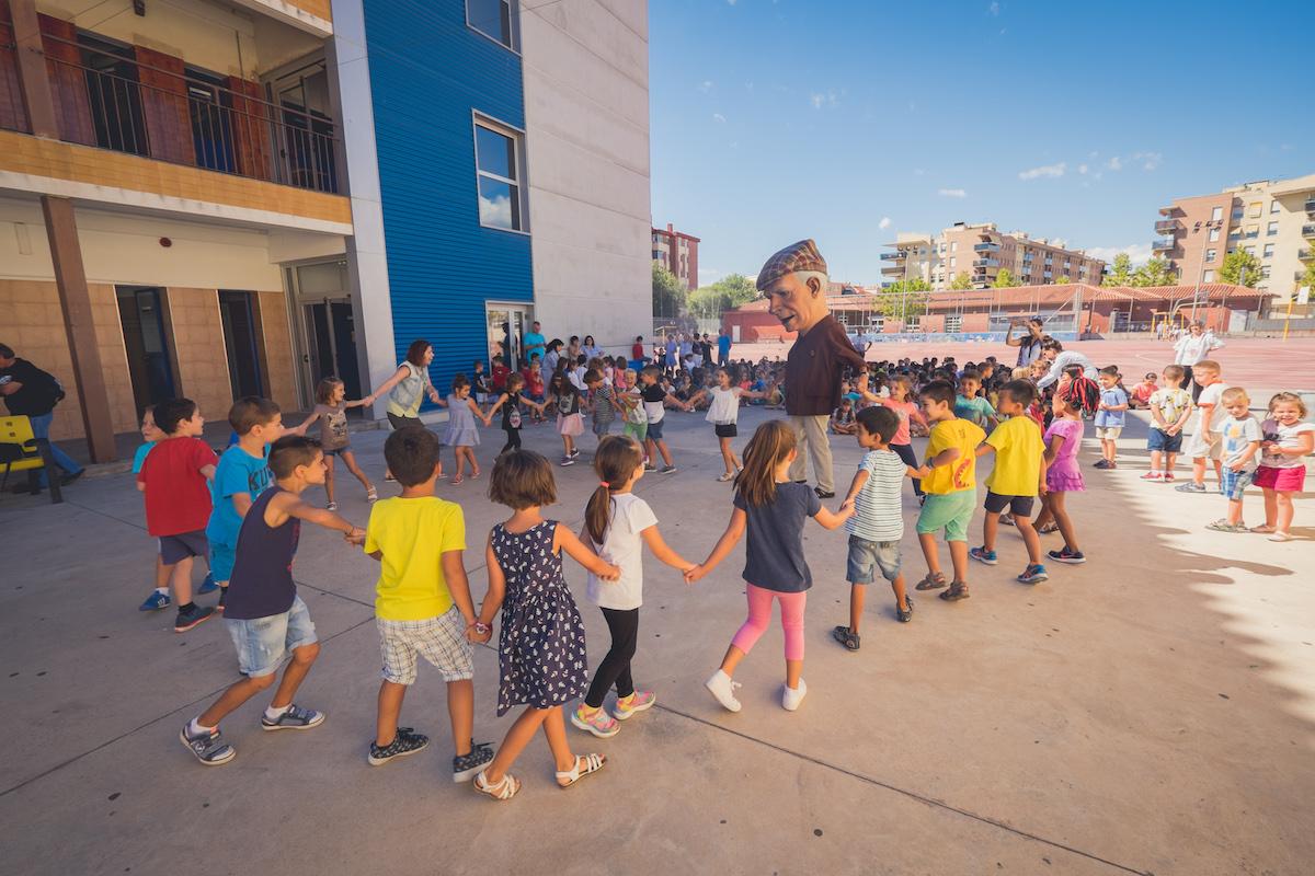 Santa Tecla a les escoles