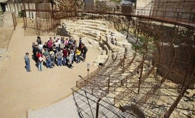Visita guiada al Teatre romà