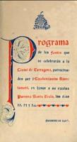 Programa d'actes 1907