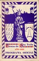Programa d'actes 1929