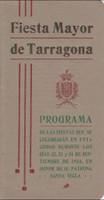 Programa d'actes 1916