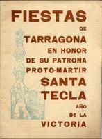 Programa d'actes 1939