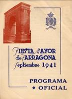 Programa d'actes 1941