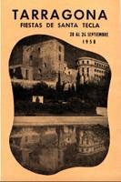Programa d'actes 1958