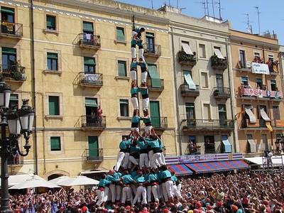Castells 2de9fm Castellers de Vilafranca