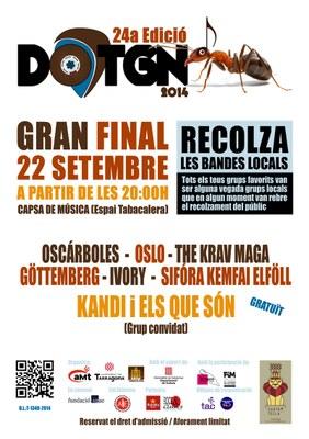 Arriba la final de la 24a edició del concurs musical DOTGN