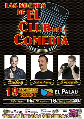 Canvi de data de 'Las Noches de El Club de la Comedia' al Palau de Congressos