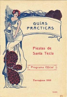 Consultables per Internet una quarantena de programes d'actes de Santa Tecla de finals del segle XIX i la primera meitat del segle XX