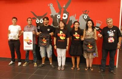 Presentada la imatge i el marxandatge de les Festes de Santa Tecla 2012