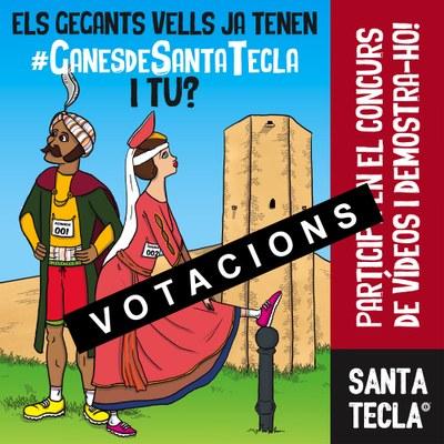 El concurs de vídeos #GanesdeSantaTecla ja té guanyadors