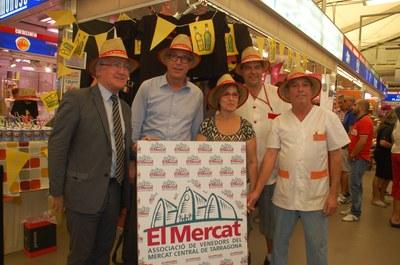 Es presenta el barret de les festes de Santa Tecla 2012