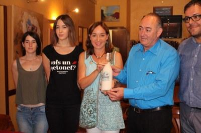 Es presenta 'El Petonet', la nova beguda de Tarragona