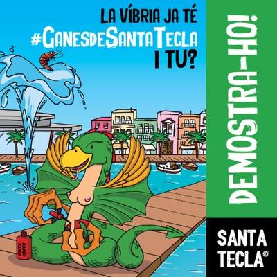 La campanya 3.0 de les festes vol que els ciutadans demostrin les seves #GanesdeSantaTecla