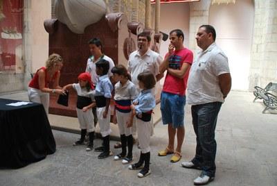 La colla Jove actuarà en primer lloc a la Diada Castellera del diumenge 19 de setembre