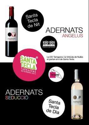 La DO Tarragona i la Vinícola de Nulles acosten als tarragonins i als visitants el Vi de Santa Tecla