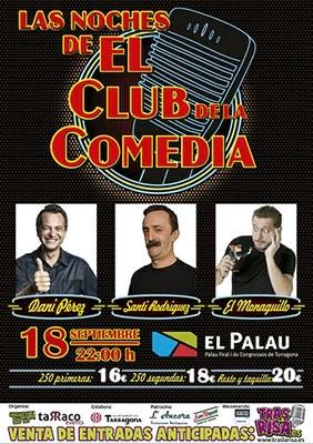 'Las Noches de El Club de la Comedia' torna al Palau per Santa Tecla