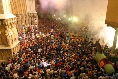 """Tarragona es bolca en convertir l'Entrada del Braç de Santa Tecla en l'""""instant més gran dels països catalans"""""""
