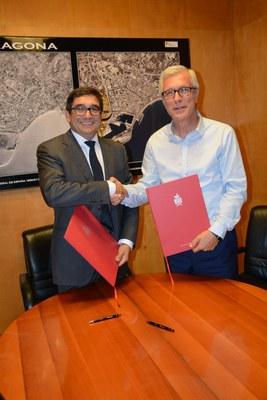BBVA signa un conveni de col·laboració amb la ciutat de Tarragona