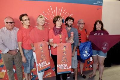 El Braç, protagonista del cartell de Santa Tecla 2017