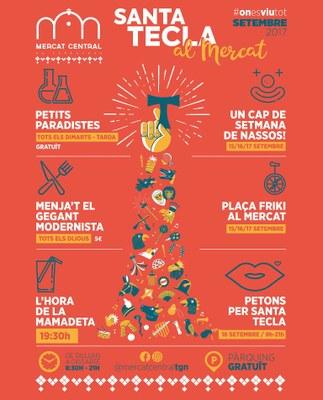 El Mercat Central s'estrena com a escenari de les festes