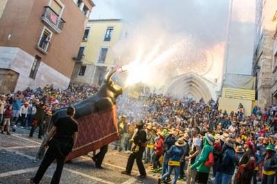 Salvador Borrull, Júlia Moncada i Ana Cortés del Bou de Tarragona seran els banderers del matí de Santa Tecla