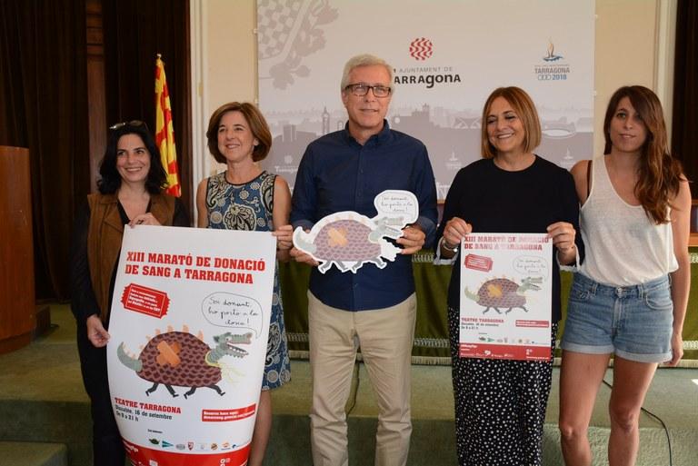 Tarragona es prepara per a tornar a superar els 1.000 donants de sang