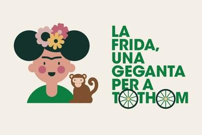 Diumenge es presenta la Frida, la nova geganta adaptada de Tarragona