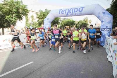 1100 corredors han participat en la Peonada Popular de Santa Tecla