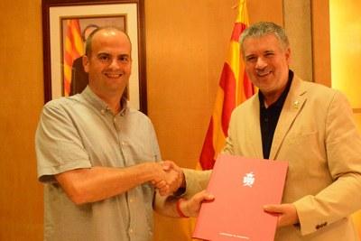 Conveni de col·laboració entre els càmpings Tarragona Ciutat i l'Ajuntament de Tarragona per Santa Tecla