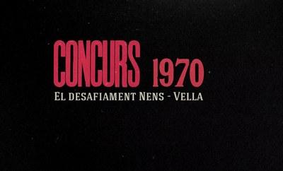 El documental 'Concurs 1970. El desafiament Nens-Vella' s'estrenarà el dilluns 21 de setembre al Teatre Auditori del Camp de Mart
